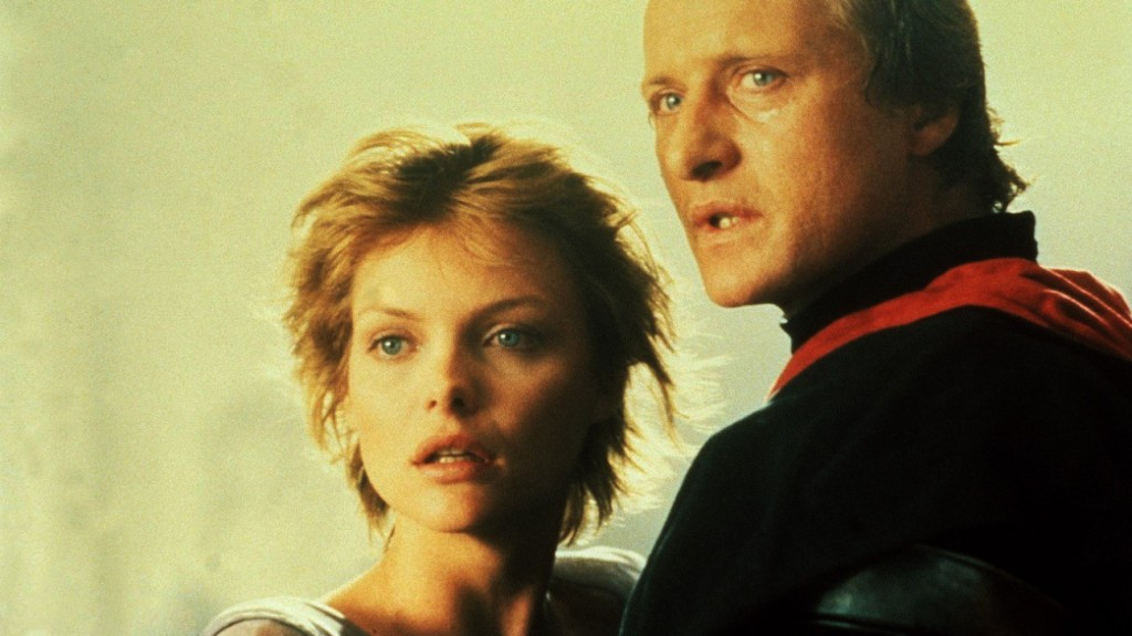 Ladyhawke starring Michelle Pfeiffer and Rutger Hauer