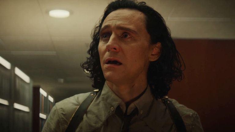 Tom Hiddleston as Loki in the season finale