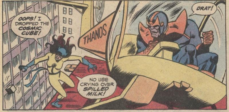 L'hélicoptère de Thanos!