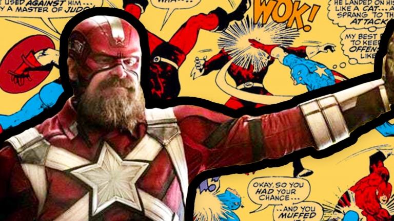 David Harbour as Red Guardian in Marvel's Black Widow