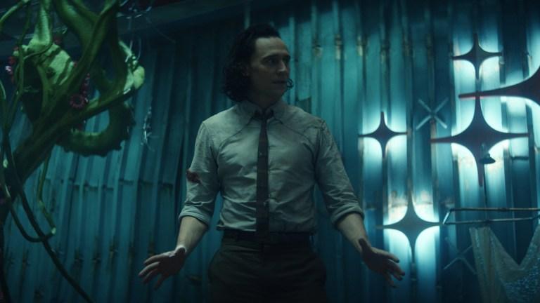 Tom Hiddleston in Marvel's Loki Episode 5