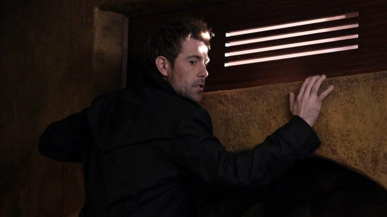 "Matt Ryan as John Constantine in Legends of Tomorrow Season 6 Episode 10 ""Bad Blood"""