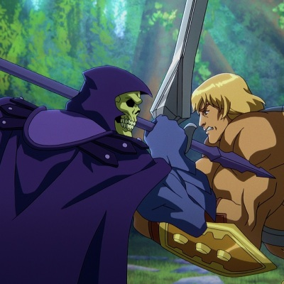 He-Man and Skeletor in Masters of the Universe: Revelation Episode 1