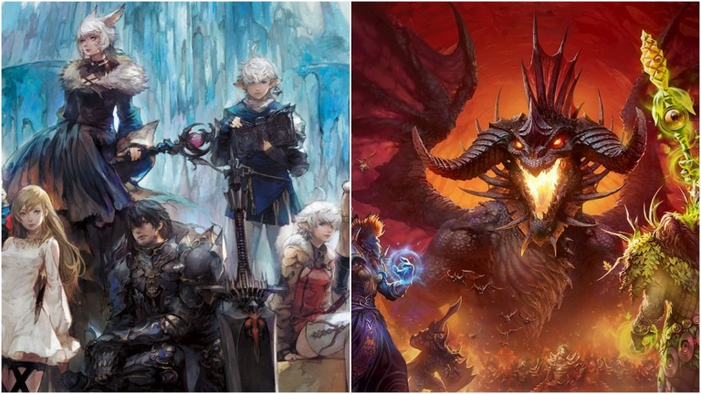 Final Fantasy 14 and World of Warcraft
