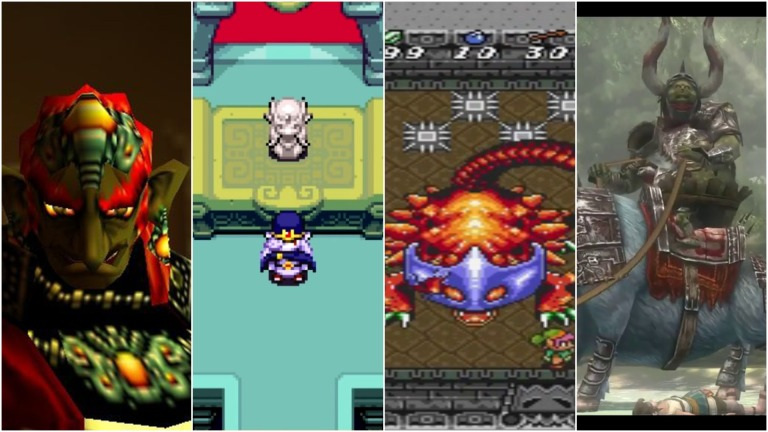 The Legend of Zelda Best Boss Fights