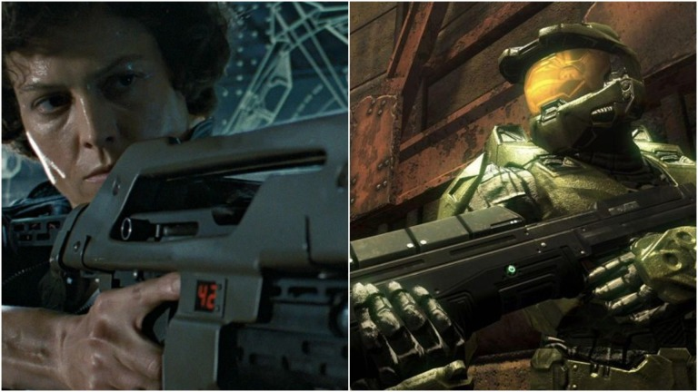 Aliens and Halo