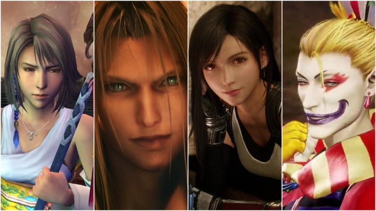 Final Fantasy Best Characters