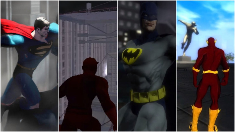 Canceled Superhero Games