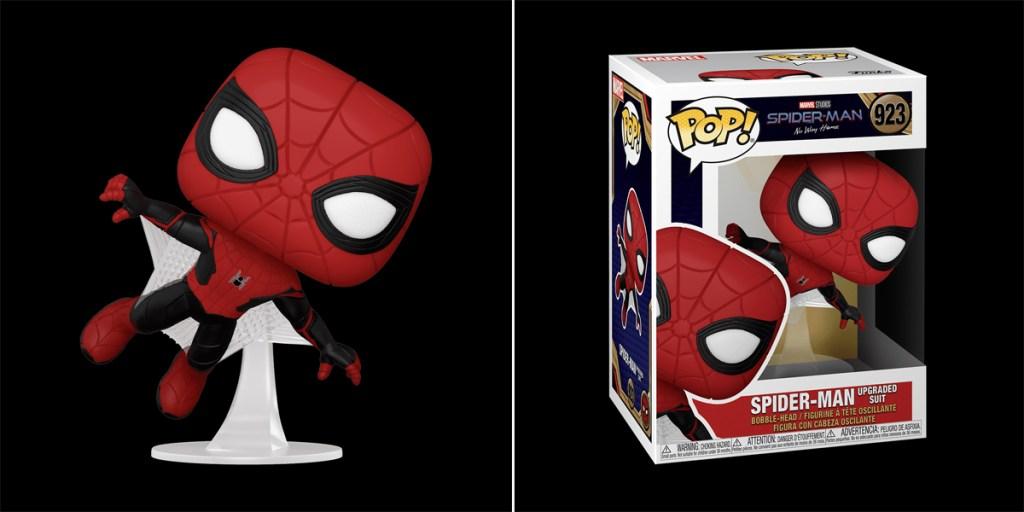 Funko Pop! Traje de mejora de Spider-Man.