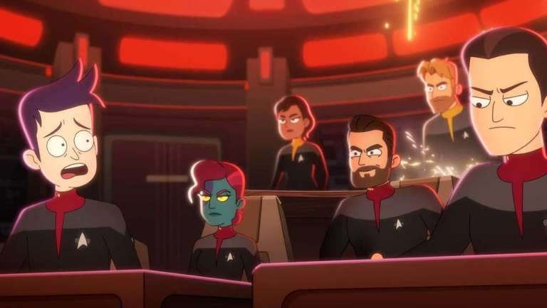 Star Trek: Lower Decks crew