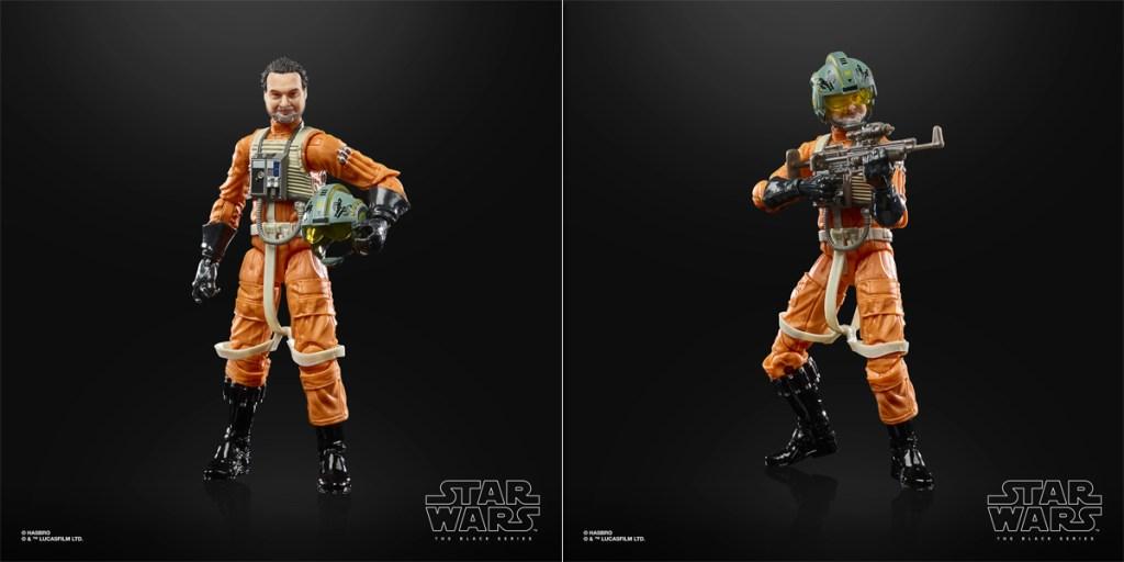 Figura de Star Wars: The Black Series Trapper Wolf (Dave Filoni).