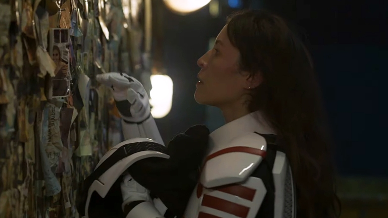 Eleanor Matsuura as Yumiko on The Walking Dead Season 11