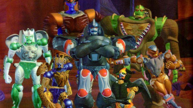 Beast Wars Transformers crew