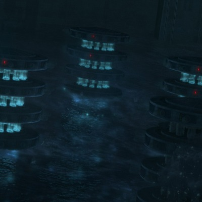 """The cloning facility on Kamino from """"STAR WARS: THE BAD BATCH"""", exclusively on Disney+."""