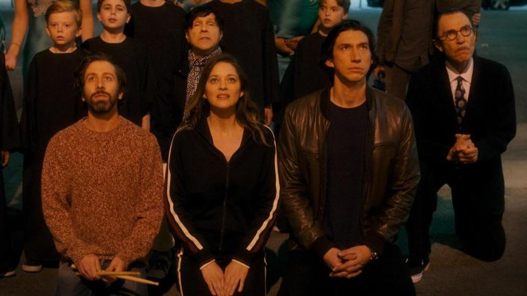 Adam Driver Amanda Cotillard and Sparks in Annette Review