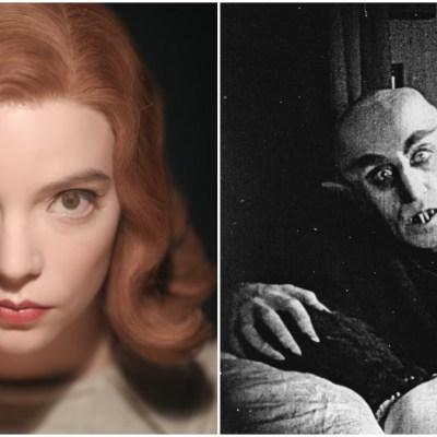 Anya Taylor-Joy and Nosferatu