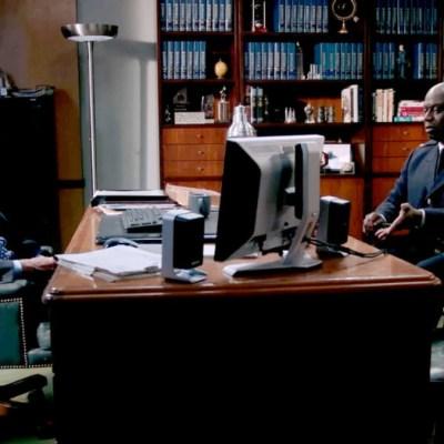 John C. McGinley y Andre Braugher en Brooklyn Nine-Nine Temporada 8 Episodio 3