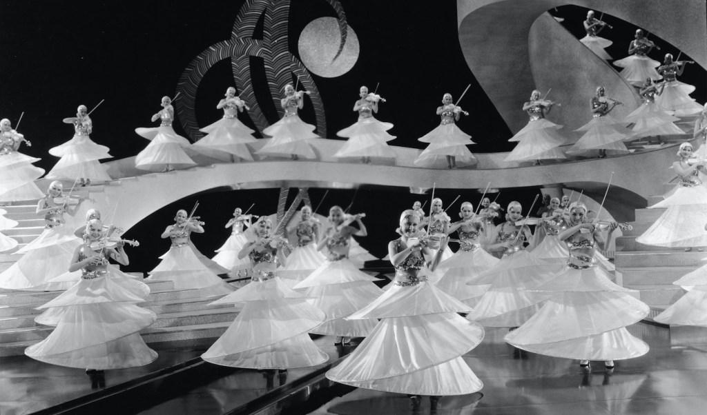 Violin Chorus Line in Gold Diggers of 1933
