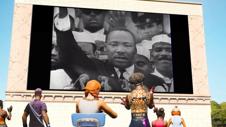 Fortnite MLK Event