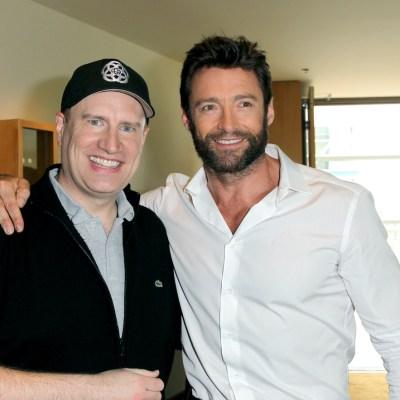 Hugh Jackman and Kevin eige in Wolverine Rumors
