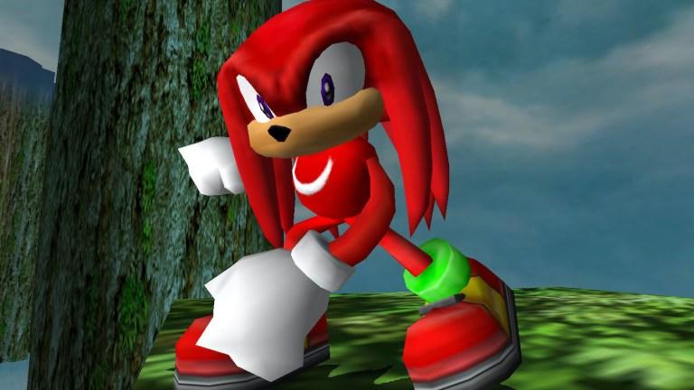 Knuckles in Sonic Adventure 2