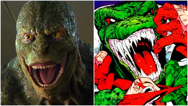 The Lizard in The Amazing Spider-Man and the comics