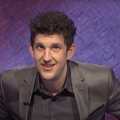 Matt Amodio on Jeopardy!