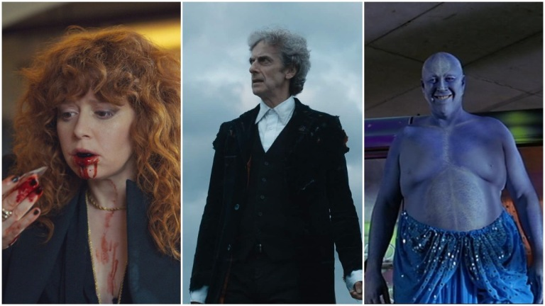 Russian Doll, Doctor Who, and Farscape composite