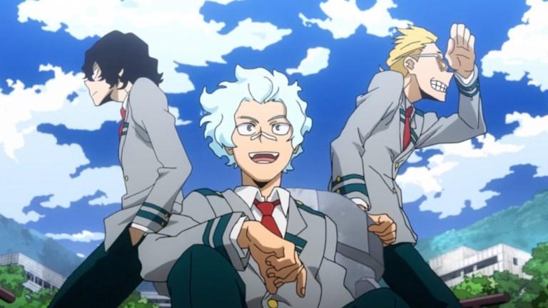 My Hero Academia Season 5 Episode 19 Aizawa Trio