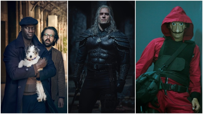 Lupin   The Witcher   Money Heist