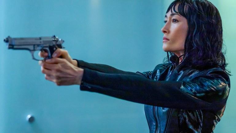 Maggie Q in The Protege