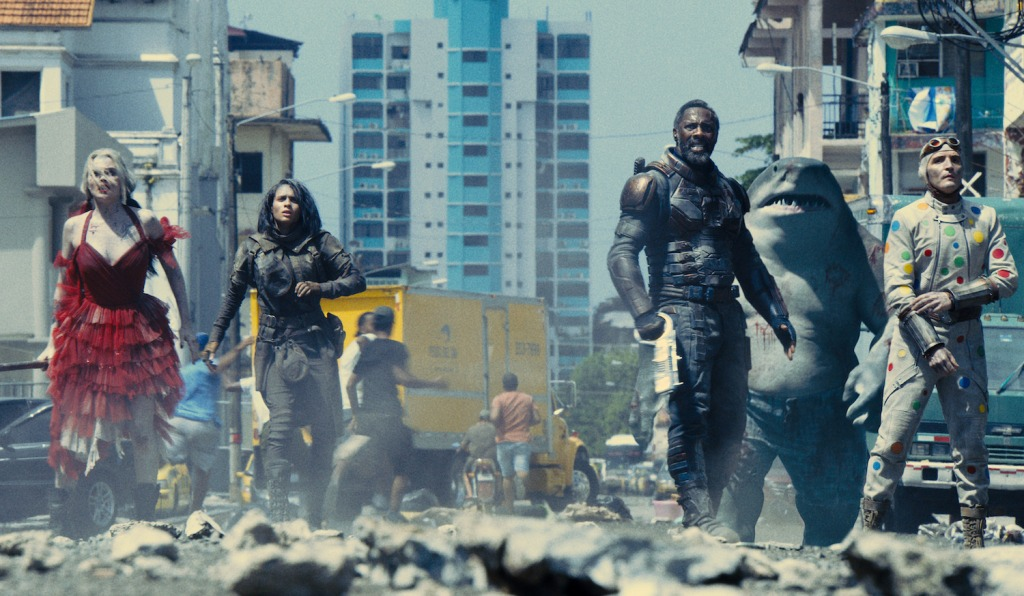 The Suicide Squad Cast including Margot Robbie and Idris Elba