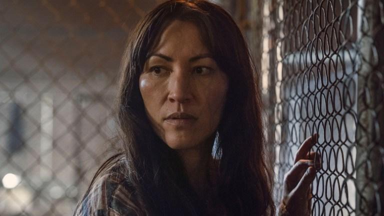 Yumiko (Eleanor Matsuura) in The Walking Dead Season 11