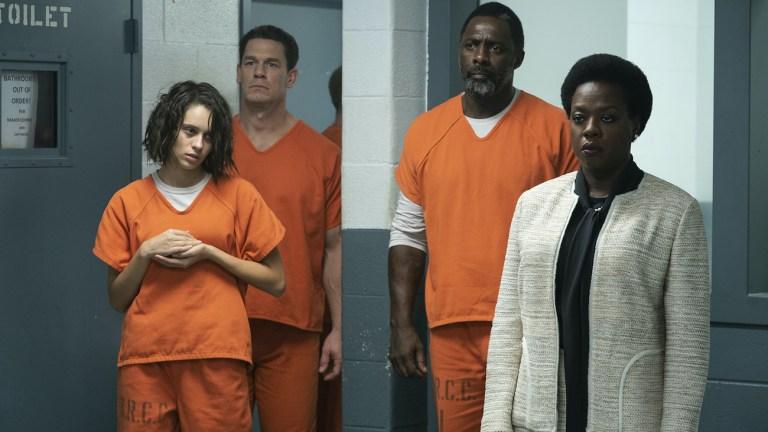 Viola Davis and Idris Elba in The Suicide Squad cast