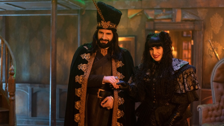 Nandor and Nadja in What We Do in the Shadows Season 3