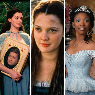 Different incarnations of the Cinderella character