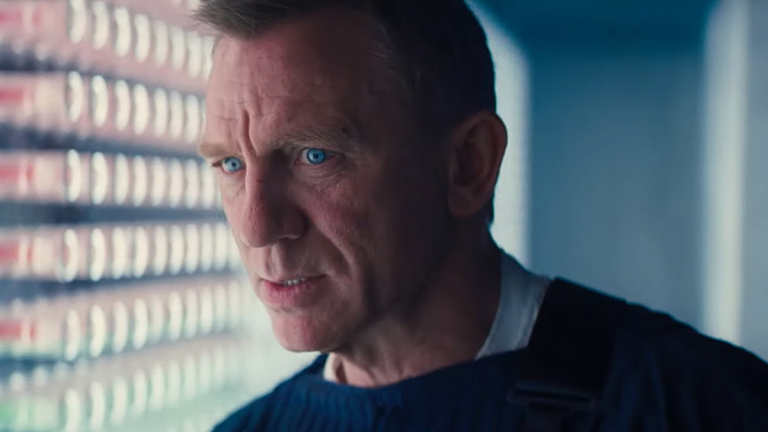 Daniel Craig as James Bond in No Time to Die.