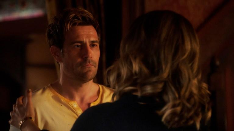 "Matt Ryan as John Constantine in Legends of Tomorrow Season 6 Episode 13 ""Silence of the Sonograms"