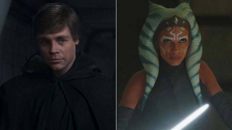 The Mandalorian; Luke Skywalker and Ahsoka Tano.