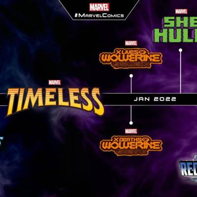 Marvel Comics: Timeless, Avengers Forever, Fantastic Four: Reckoning timeline