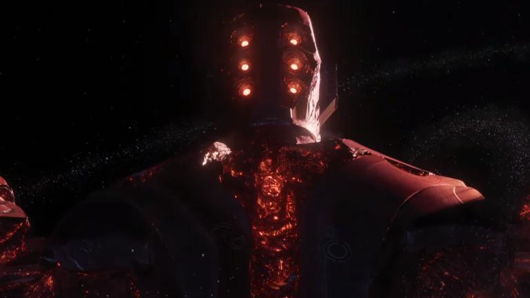 Arishem the Judge, a Celestial in Marvel's Eternals