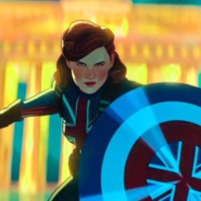 Peggy Carter is Captain Carter in Marvel's What If...?