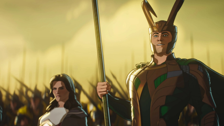 Lady Sif And Loki In Marvel's What If...?