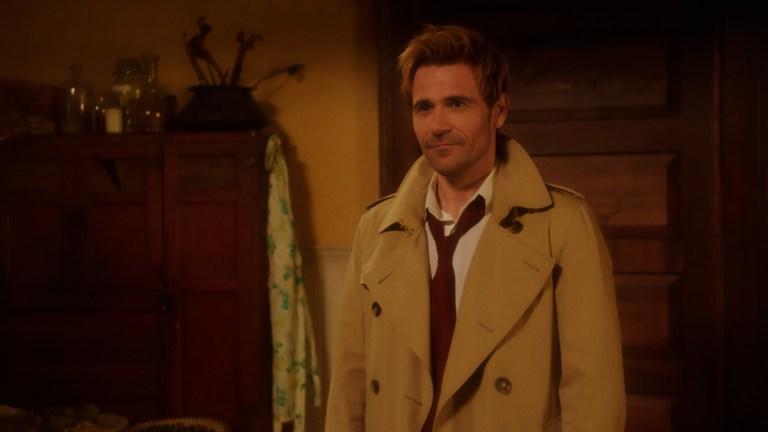 "Matt Ryan as John Constantine in Legends of Tomorrow Season 6 Episode 14 ""There Will Be Brood"""