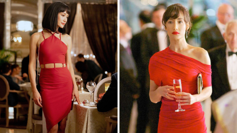 Maggie Q in The Protege and Maggie Q in Nikita