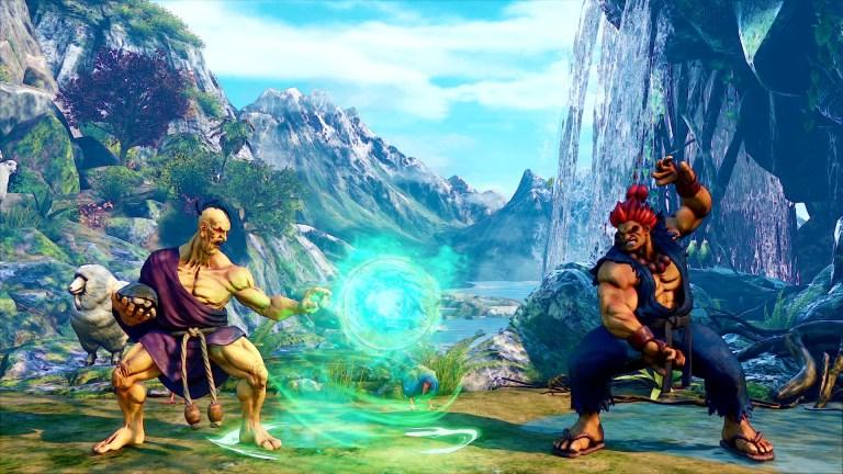 Street Fighter Oro vs Akuma