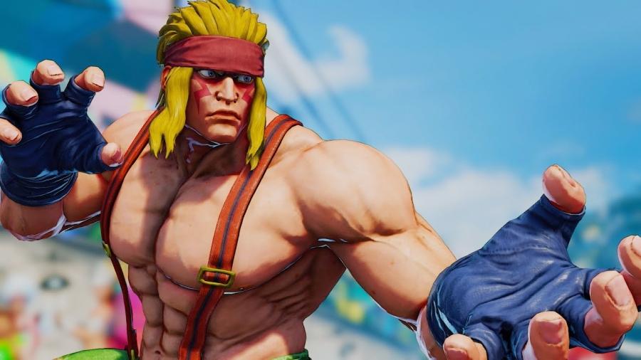 Alex from Street Fighter