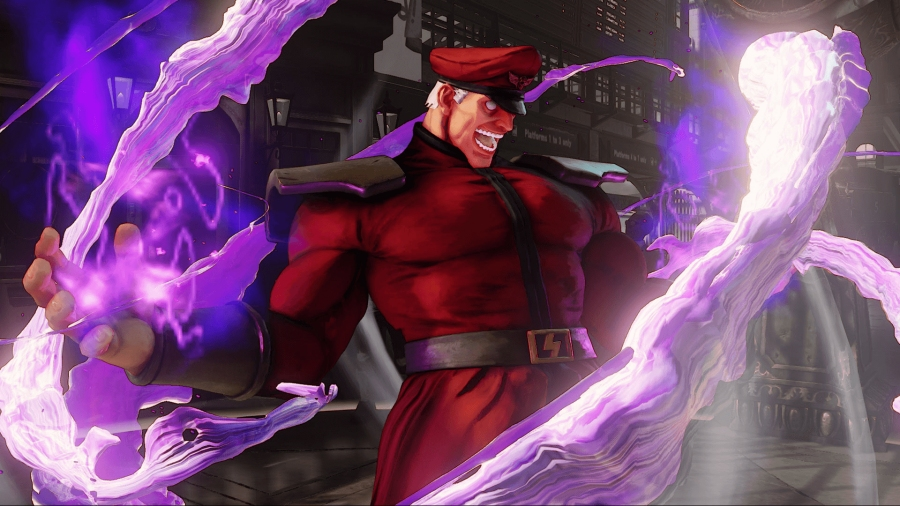 M. Bison from Street Fighter