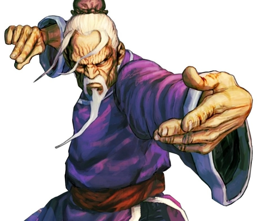Gen from Street Fighter