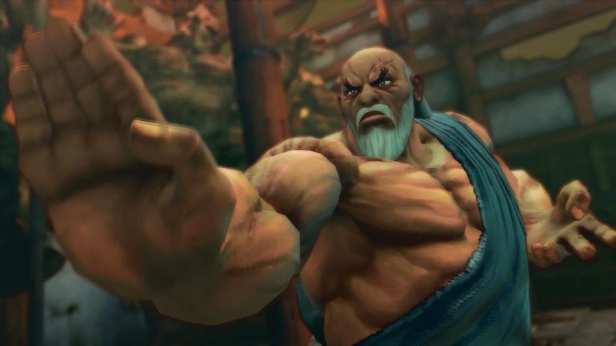 Gouken from Street Fighter